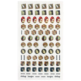 Daily Charme Nail Art Sticker Decal Vintage Girl Doodles