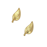 Nail Charm 3D Art Jewelry Supply Retro Leaf