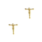 Nail Art Jewelry Retro Charms / Crucifix / Gold