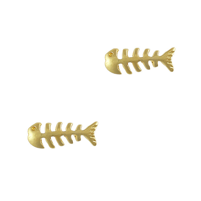 Retro Charms / Fish Bone / Gold