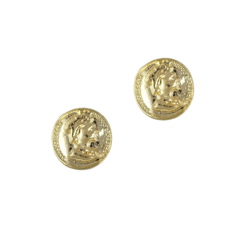 Nail Jewelry - Gold Coin / Large