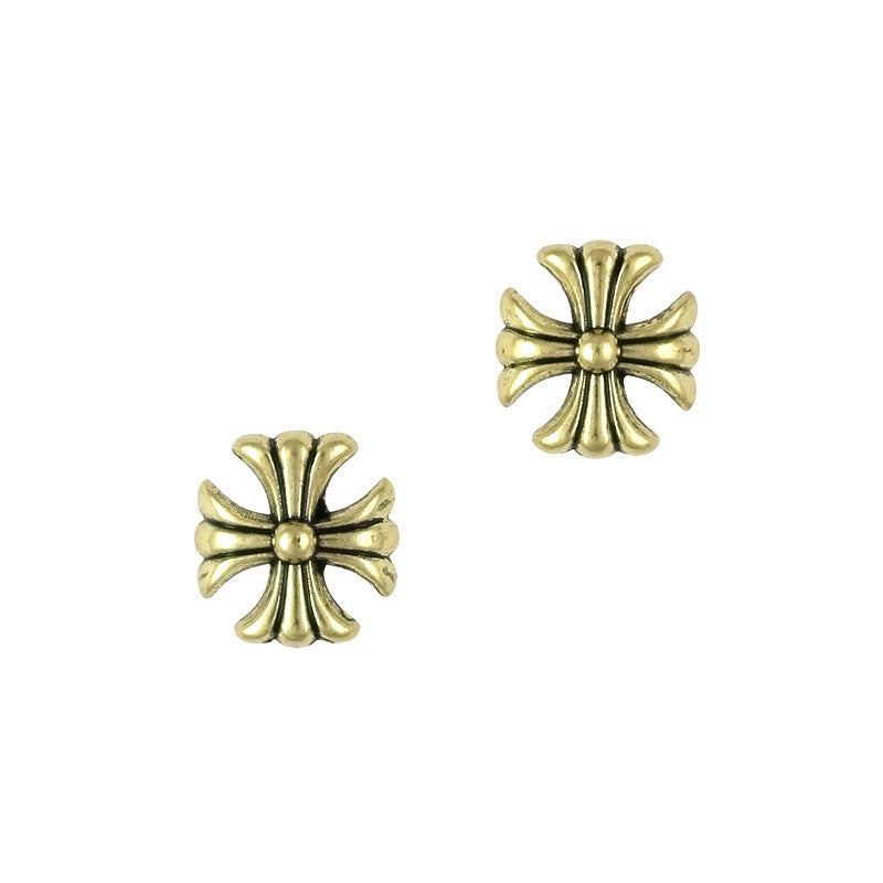 3D Nail Art Charm Jewelry Gold Antique Cross