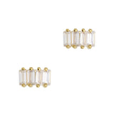 Daily Charme Nail Art Charms Vintage Diamond Band / Zircon Charm / Gold