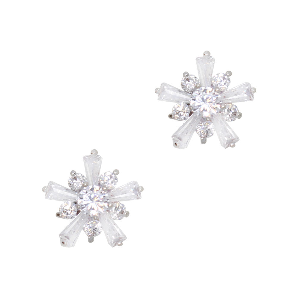Daily Charme Nail Art Charms Crystal Burst / Zircon Charm / Silver