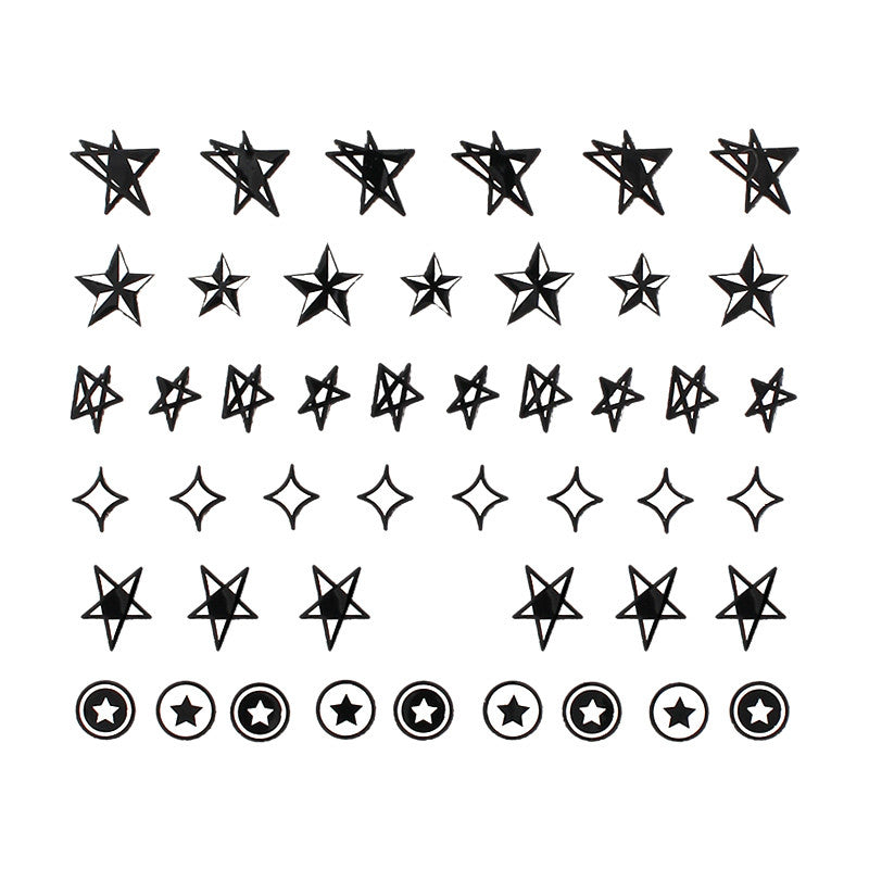 Daily Charme Nail Sticker - Star Power