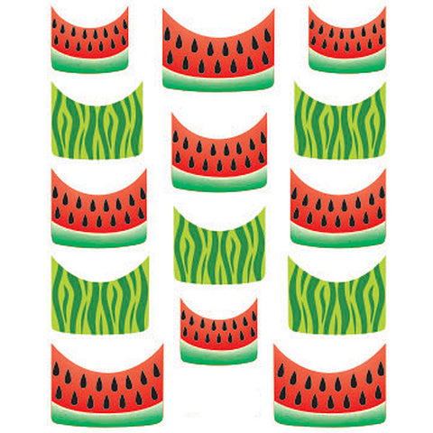 Daily Charme Water Transfer Nail Decal French Mani - Watermelon