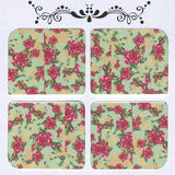 Daily Decals / Vintage Roses Over Mint