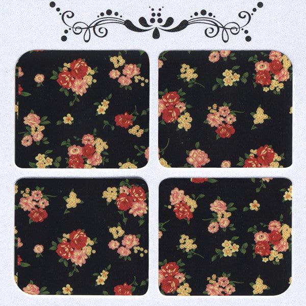 Daily Decals / Vintage Blossoms