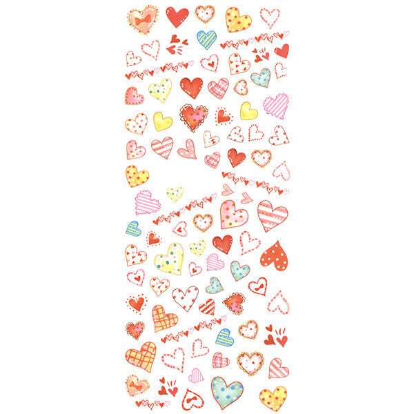 Dainty Decals - Lovely Cartoon Hearts