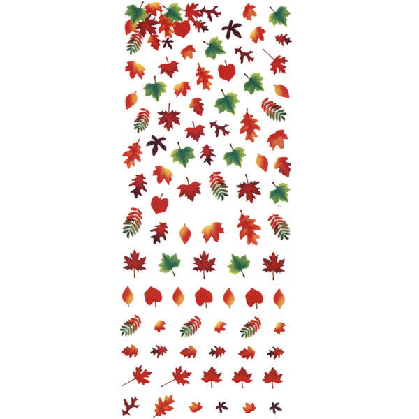 Daily Charme Nail Art Water Decals Dainty Decals - Autumn Leaves