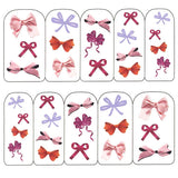 Nail Art Water Decals Sticker - Pop Decals - Colorful Bows