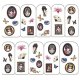 Nail Art Water Decals Sticker - Pop Decals - Chinese Opera