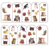 Nail Art Water Decals Sticker - Pop Decals - Kittens & Ducklings