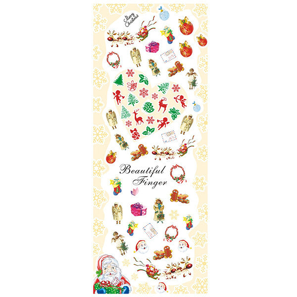 Daily Charme Nail Art Water Decals Dainty Decals - Lovely Christmas