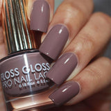 Daily Charme Nail Art Polish Floss Gloss / Tauped by an Angel