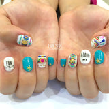 Funside Japanese Nail Art Sticker / Friendship Bracelet & Tassel