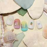 FUNSIDE Japanese Nail Art Sticker / Beach Vibes
