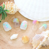 FUNSIDE Japanese Nail Art Sticker / Beach Vibes Rainbow