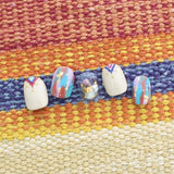 FUNSIDE Japanese Nail Art Sticker / Colorful Native Prints
