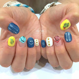 FUNSIDE Japanese Nail Art Sticker / Feathers & Arrows White
