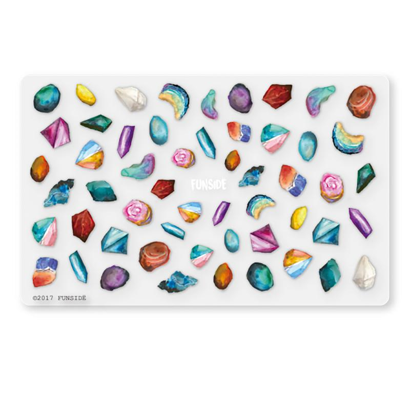 FUNSIDE Japanese Nail Art Sticker / Gemstones – Daily Charme