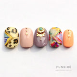 Daily Charme FUNSIDE Japanese Nail Art Sticker / Silk Scarf