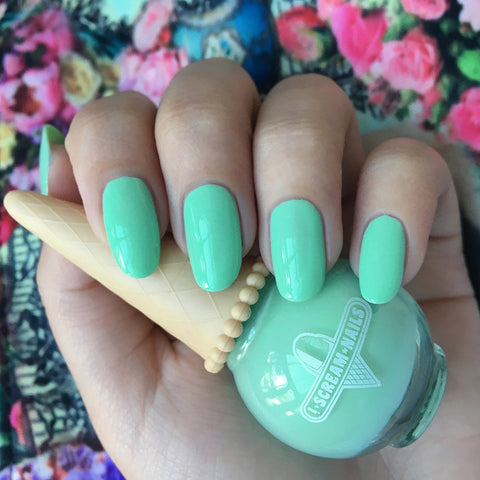 Daily Charme Indie Nail Polish I Scream Nails / Grasshopper Pie