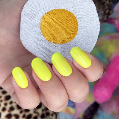 Daily Charme Indie Nail Polish I Scream Nails / Pineapple Punch
