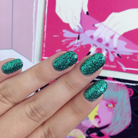 Daily Charme Indie Nail Polish I Scream Nails / Mint Pattie