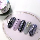 Daily Charme Glittery Art Gel / Ultraviolet Nail Art