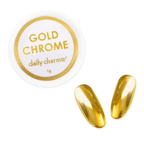 Daily Charme Mirror Gold Chrome Powder Best Nail Art Supplies