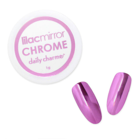 Mirror Lilac Chrome Powder for Nail Art Daily Charme Nail Supplies