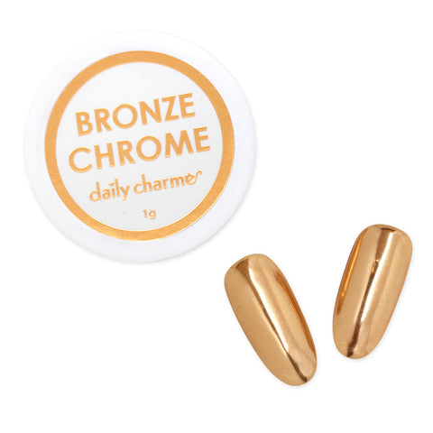 Mirror Bronze Chrome Powder Best Nail Art Supplies Copper