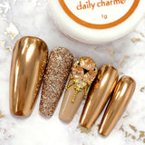 Mirror Bronze Chrome Powder Best Nail Art Supplies