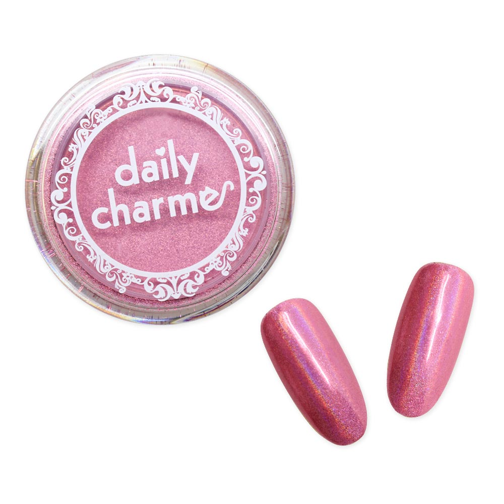 Daily Charme Holographic Pink Unicorn Chrome Powder