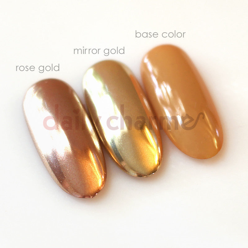 Mirror Nails Powder Rose Gold- HireAbility