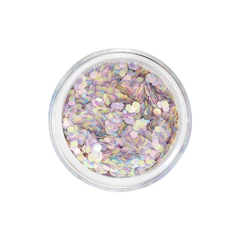 Pastel Confetti Glitter Mix for Nail Art / Celestia