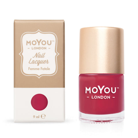 Moyou London / Stamping Nail Lacquer / Femme Fatale