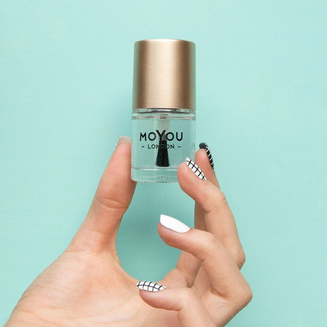 Moyou London / Stamping Nail Lacquer / Smudge Resistant Top Coat