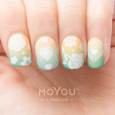 Daily Charme Nail Supply Nail Art Stamping Moyou London Bridal 08 - Bridal Mix & Match