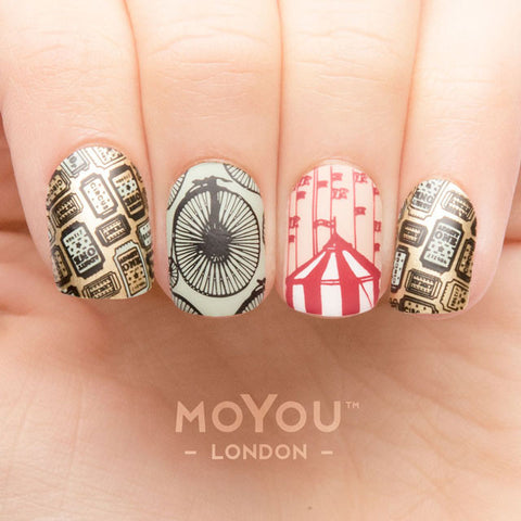 Daily Charme Nail Supply Art Stamping Moyou London Circus 03