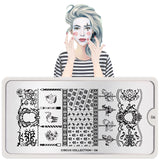 Daily Charme Nail Supply Art Stamping Moyou London Circus 06