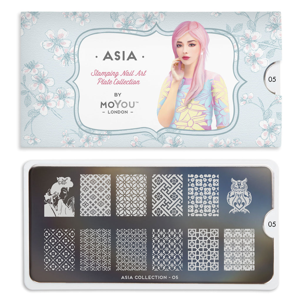 Moyou London Asia 05 - Symmetrical Prints Palettes Large