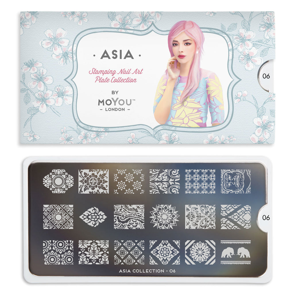 Moyou London Asia 06 - Floral Motifs Palettes Small
