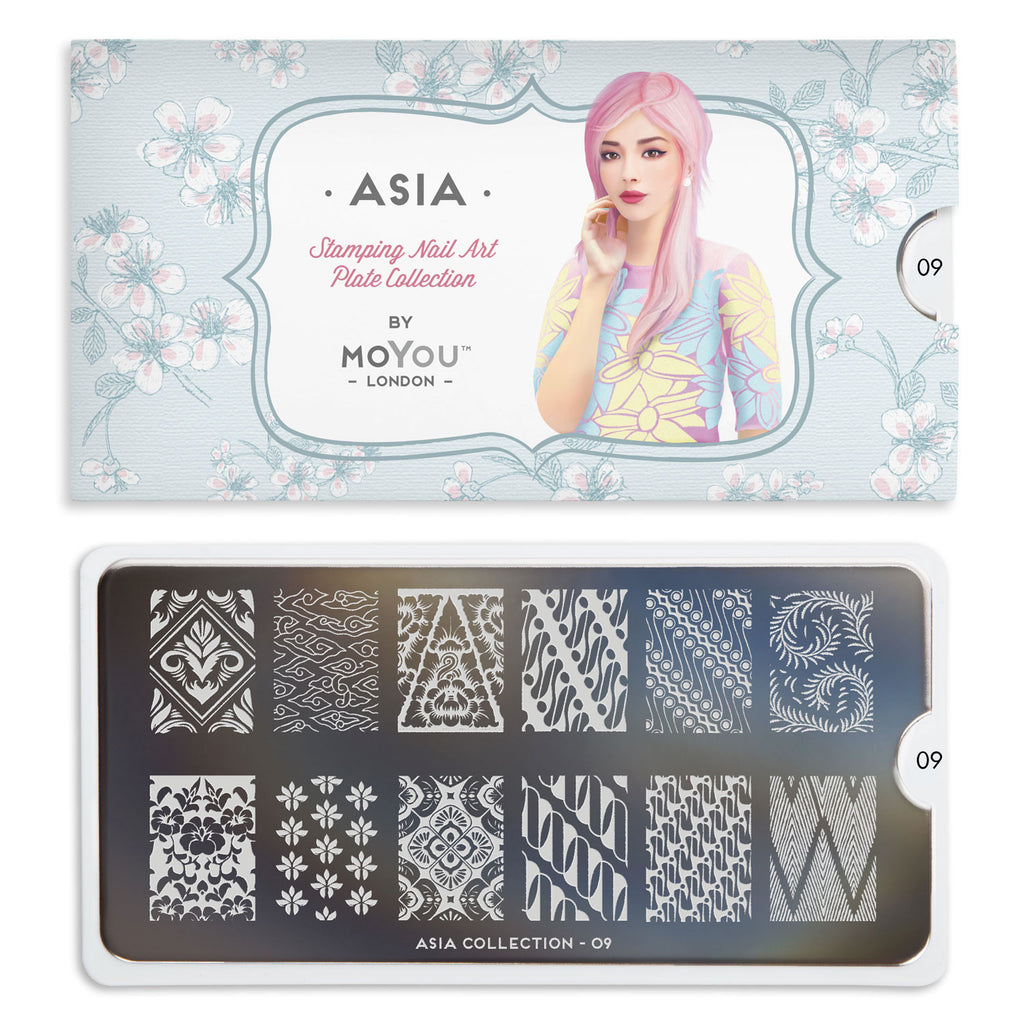 Moyou London Asia 09 - Decorative Prints Palettes Large