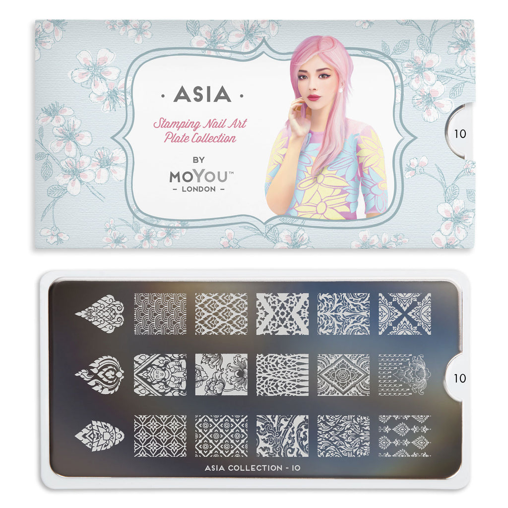 Moyou London Asia 10 - Decorative Prints Palettes Small