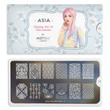 Moyou London Asia 11 - Ornamental Floral Prints Palettes Large