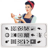 cook book 10 dessert palettes small moyou stapming plate
