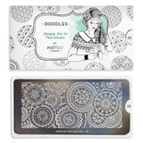 Moyou Stamping Plate Doodle 03 - Circular Patterns