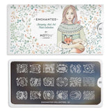 Moyou Nail Art Stamping Plate - Enchanted 01